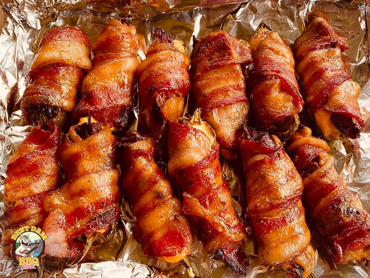 Our featured Bacon Wrapped Shrimp